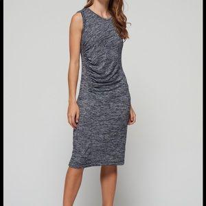 Gap size med petite marled tank dress.